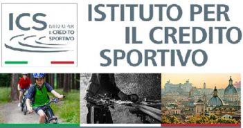 L'Istituto per il Credito Sportivo concede finanziamenti alle società sportive dilettantistiche