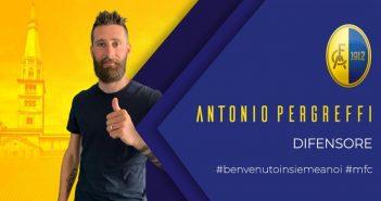 Modena FC - Resto del Carlino - Primo colpo di Matteassi: ecco il difensore Pergreffi