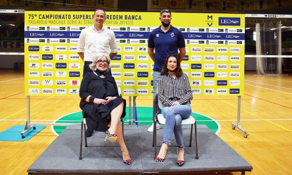 Modena Volley, la presentazione della nuova stagione