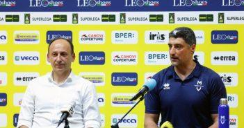 Modena Volley - Pedrini, Gabana, Sartoretti e Giani presentano la nuova stagione