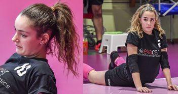 Volley, A2/F: Gaia Giovannini e Sofia Migliorini dell'Exacer Montale oggi a