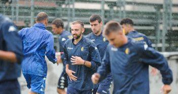 Modena FC - Gazzetta di Modena - Un ritorno in campo sotto la pioggia