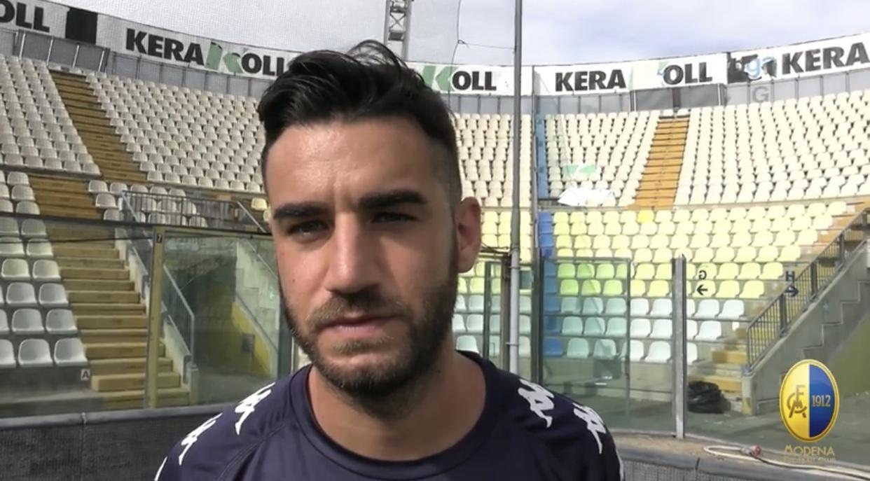 Modena Fc, intervista Guido Davì