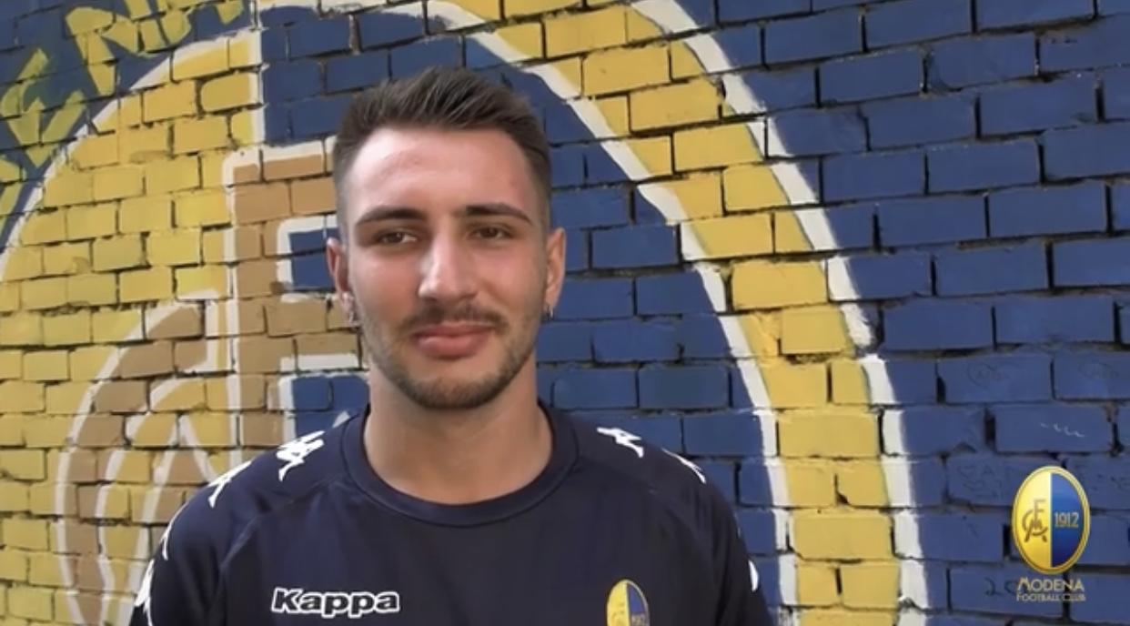 Modena Fc, intervista Riccardo Gagno