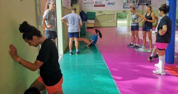 Volley, A2/F: l'Exacer Montale dà il via alla preparazione tra sudore e sorrisi