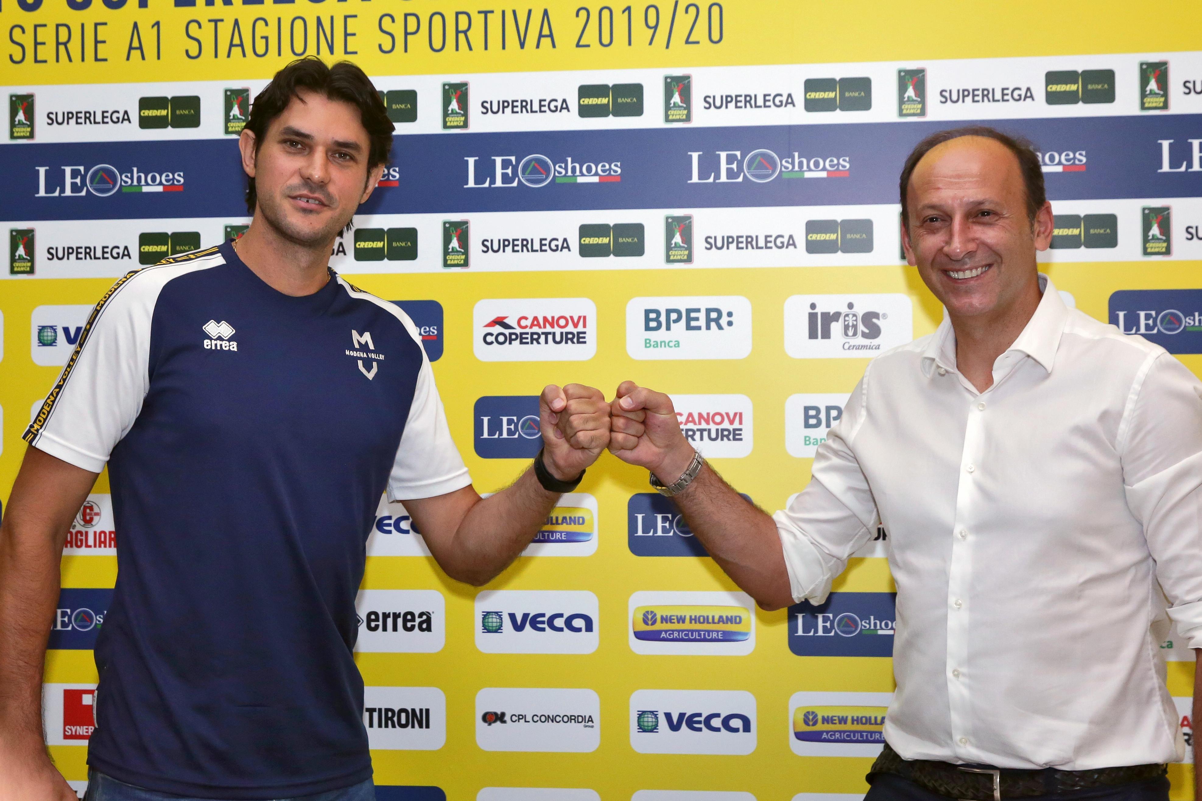 Modena Volley, presentazione Stankovic e partnership Tec Eurolab
