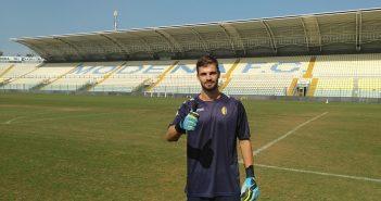 UFFICIALE - Modena Fc, arriva il giovane portiere Andrea Chiossi
