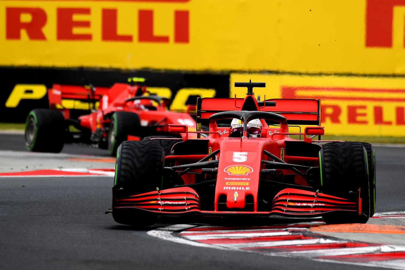 Formula 1 - Gran Premio d'Ungheria: Vettel sesto e Leclerc undicesimo