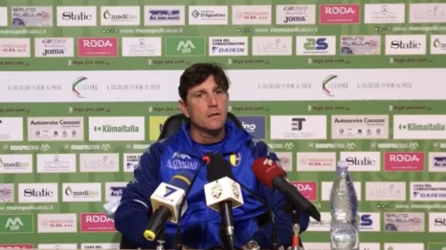 Monopoli-Modena 1-0, le dichiarazioni di mister Mignani