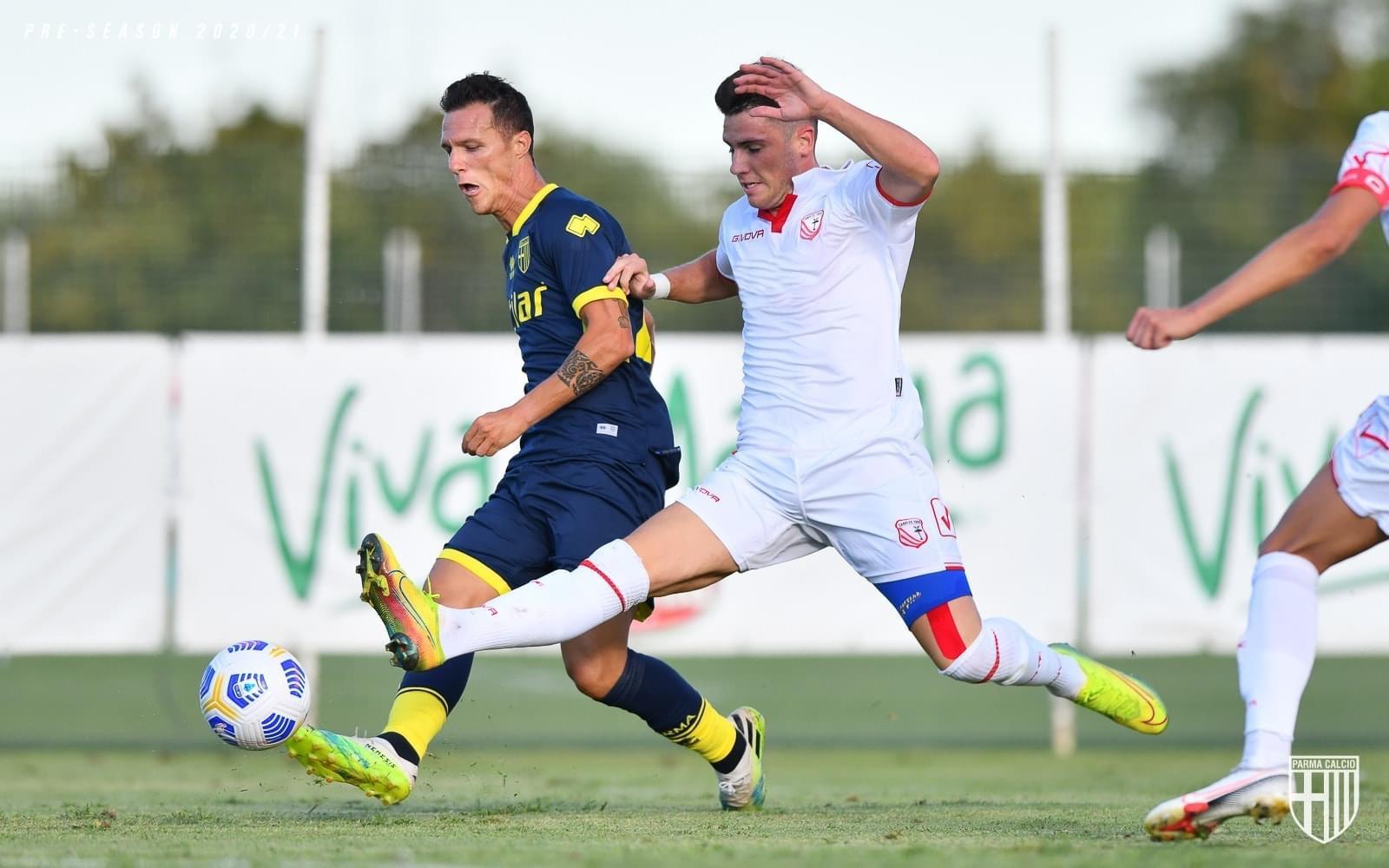 Amichevole: Parma-Carpi 2-0