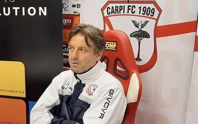 Carpi-Sambenedettese 2-0, le dichiarazioni di Emilio Coraggio
