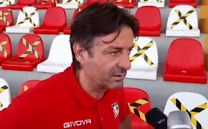 Ravenna-Carpi 2-1, le dichiarazioni del vice allenatore Emilio Coraggio
