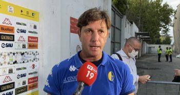"""Modena Fc, mister Mignani: """"Questa squadra può crescere tanto e fare bene"""""""
