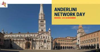 Anderlini Network Day, le società del Network si incontrano a Modena il 14 e 15 novembre