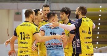 Modena Volley - Resto del Carlino: Leo Shoes, impennata d'orgoglio