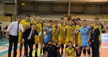 Modena Volley vince al tiebreak a Cisterna grazie a una reazione d'orgoglio