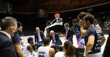 Basket - Una grande Fortitudo Bologna batte 76-72 l'Umana Reyer Venezia