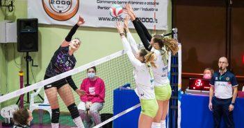 Volley, A2/F: il derby è ancora di Sassuolo, l'Exacer Montale si arrende in casa (1-3)