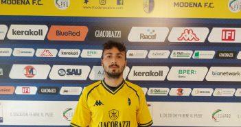 """Modena Fc, Ivan De Santis: """"Pronto e carico per la nuova avventura in maglia gialloblù"""""""