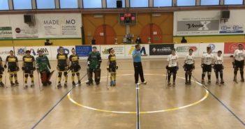 Hockey - Symbol Amatori Modena 1945, gara a senso unico contro Vercelli: 19-0 per le ragazze gialloblù