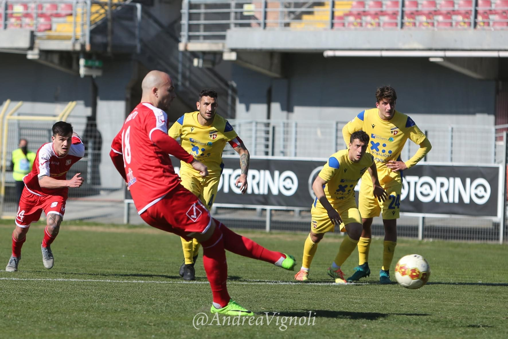 Carpi-Fermana 0-0, highlights