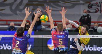 Modena Volley - Resto del Carlino, Leo Shoes: il sogno si spegne al golden set