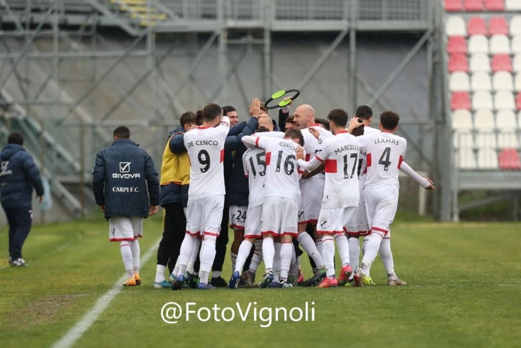Carpi-Matelica 4-1, highlights