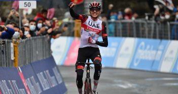 Giro d'Italia, 4ª tappa: a Sestola vince Dombrowski; Rosa a De Marchi. Domani partenza da Modena