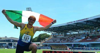 Atletica, Frattini porta il secondo tricolore alla Fratellanza agli italiani Junior/Promesse