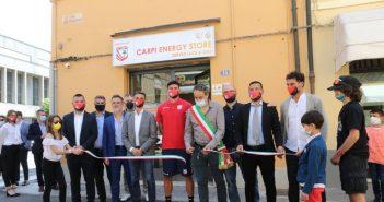 Carpi FC - Gazzetta di Modena - Inaugurato lo store in centro e Mussi annuncia: