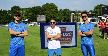 Atletica, cinque atleti della Fratellanza agli Europei Under 23 e Under 20 al via da domani