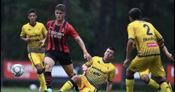 Modena FC - Resto del Carlino - Milan di un altro pianeta, ma i gialli ci sono