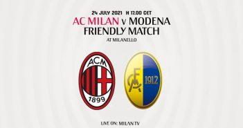 LIVE - Milan-Modena 5-0
