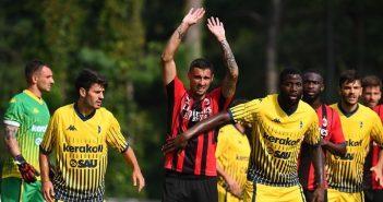Modena Fc, contro il Milan i gialloblù hanno utilizzato la nuova maglia ufficiale