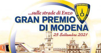 """Continua il grande lavoro di ACI Storico con """"Ruote nella Storia 2021"""", il 25 settembre prossimo si svolgerà l'8° Gran Premio di Modena… sulle strade di Enzo"""