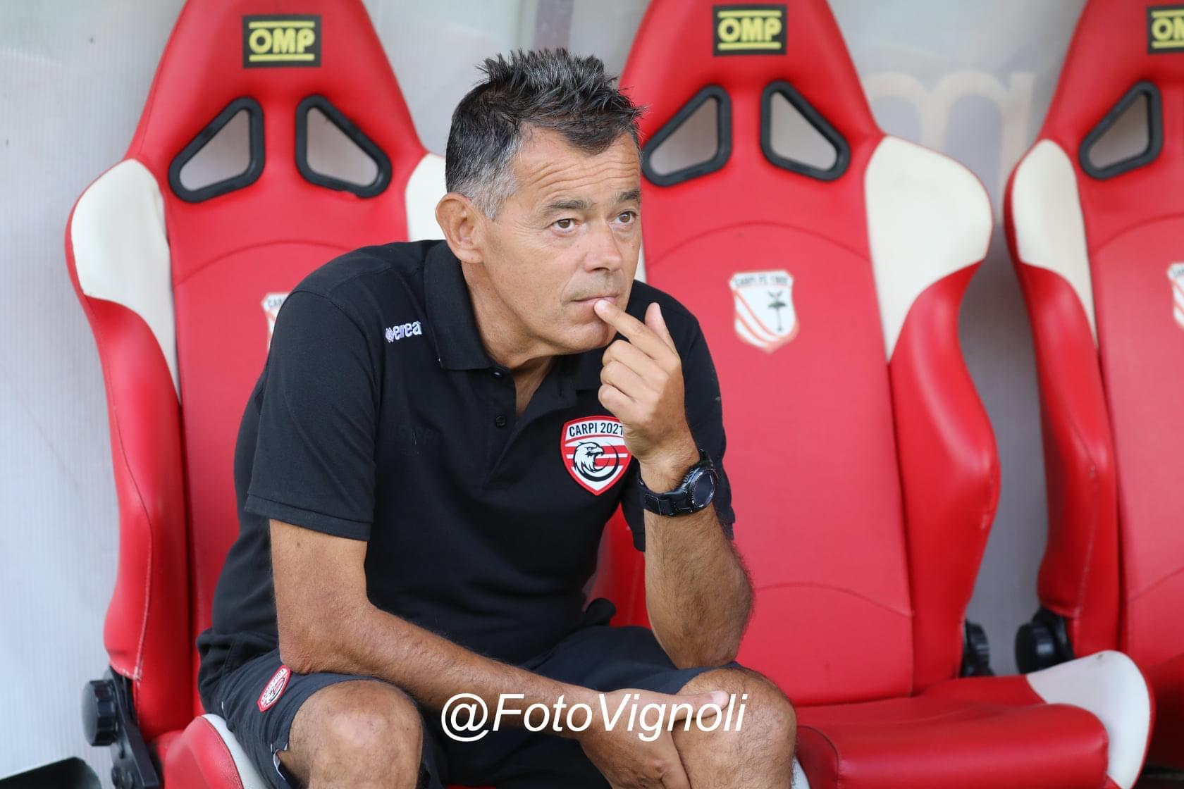 Athletic Carpi, mister Bagatti alla vigilia della gara di Coppa Italia contro il Forlì