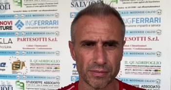 """Dilettanti - Modenese, mister Fontana: """"Voglio una squadra che ricerchi i punti sempre attraverso il gioco. L'obiettivo principale è la salvezza"""""""
